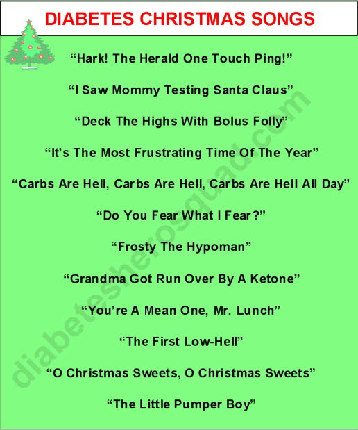 Diabetes Christmas Songs